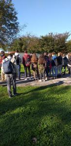 Interkulturalni društveni vrt (kod kluba Močvara) koji smo posjetili 14. listopada.