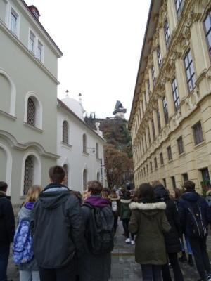 Pogled na Schlossberg, brdo u središu Graza na čijem se vrhu nalaze ostatci srušenoga dvorca.
