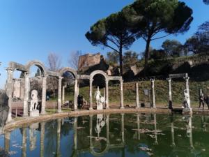Hadrijanova vila u Tivoliju velik je kompleks uvršten na UNESCOV popis svjetske baštine.