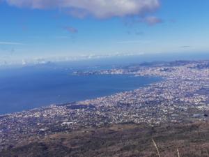 Pogled na Napulj s Vezuva