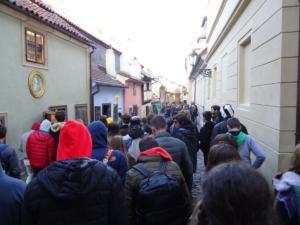 Zlatna ulica u praškom dvorcu jedna je od najpoznatijih praških ulica.