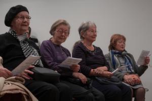Publika se pridružila pjesmi: izvedba Domjanićeve pjesme Fala na latinskom (Gratia).