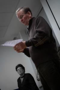 Zlatko Vidulić pročitao je pjesmu koju je napisao profesorici u čast.